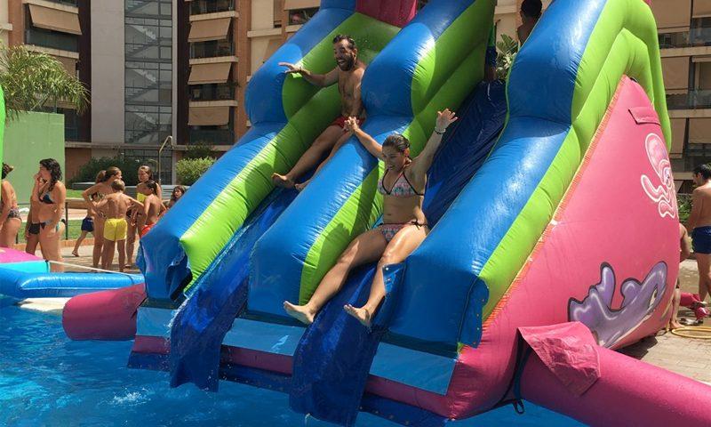 tobogan acuatico para piscinas
